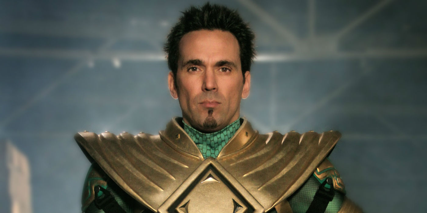 Jason David Frank as Tommy Oliver/The Green Ranger