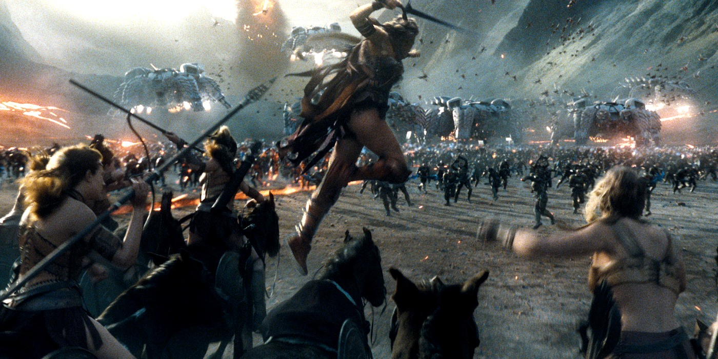 Justice League's Opening Battle Scene Revealed | Screen Rant