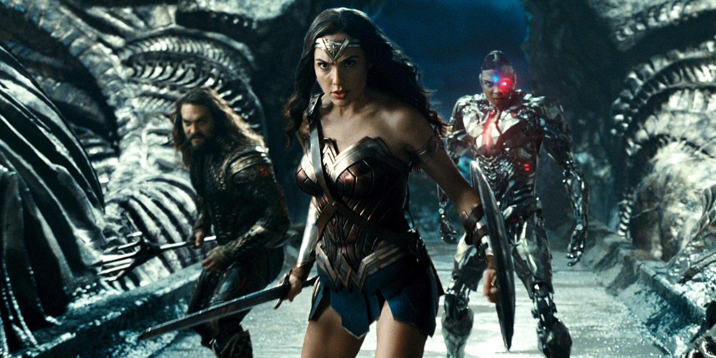 Justice League Trailer Aquaman Cyborg Wonder Woman
