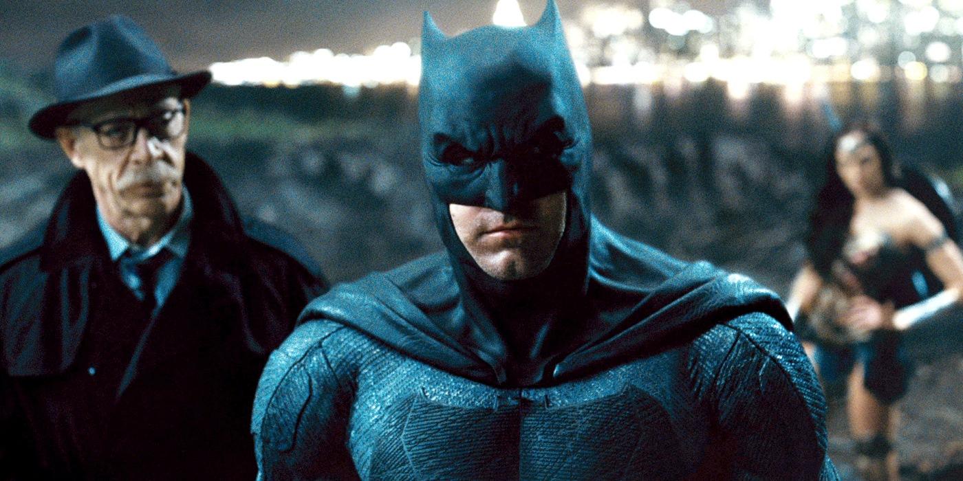 Justice League Trailer Gordon Batman Wonder Woman