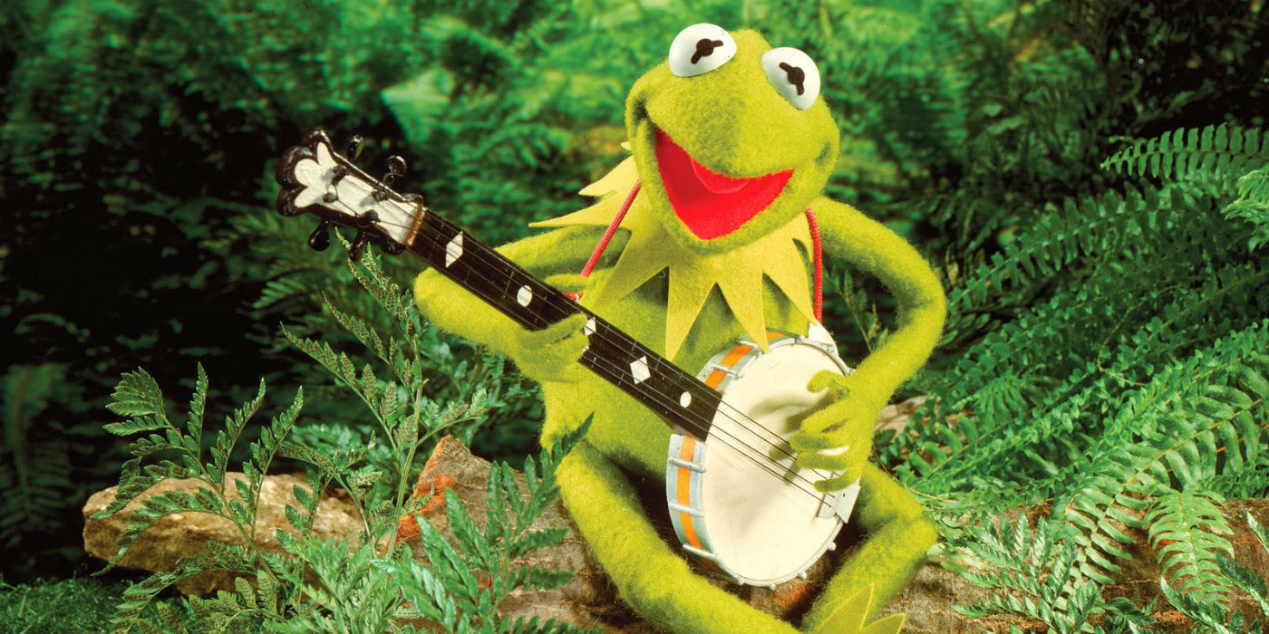 Kermit the Frog Playing Banjo During The Rainbow Connection