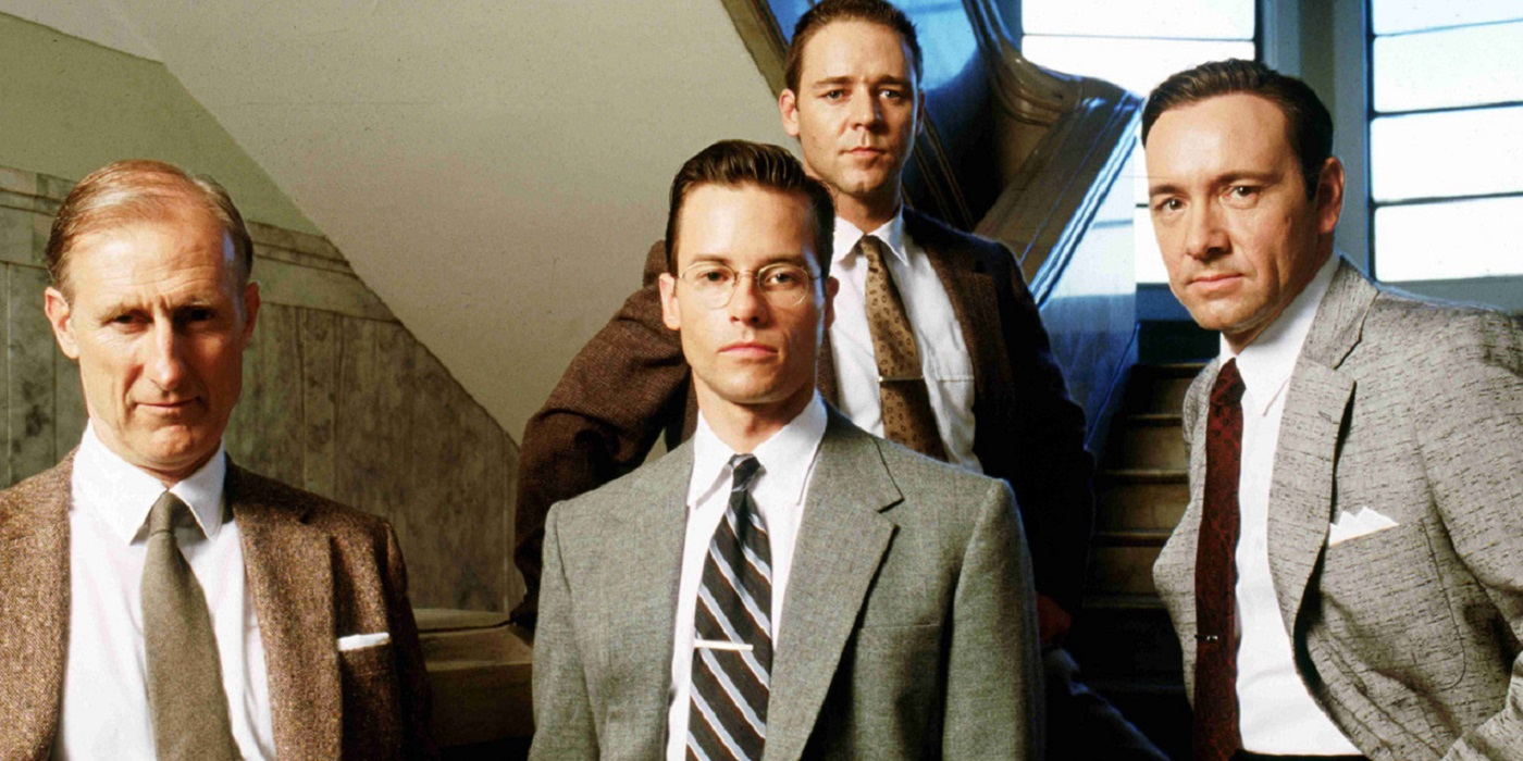 L.A Confidential Russell Crowe Guy Pearce Kevin Spacey