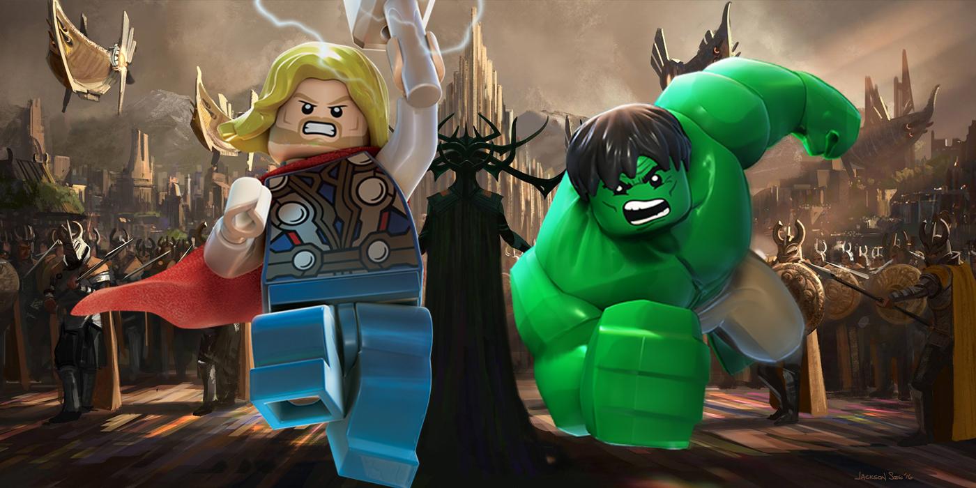 Lego Thor and Hulk and Ragnarok