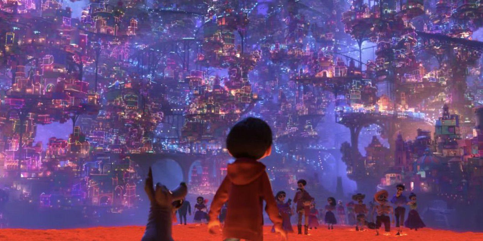 Miguel and Dante in Coco Trailer Disney Pixar