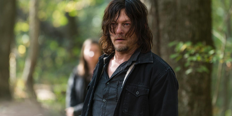Norman Reedus as Daryl in The Walking Dead Season 7 Episode 15