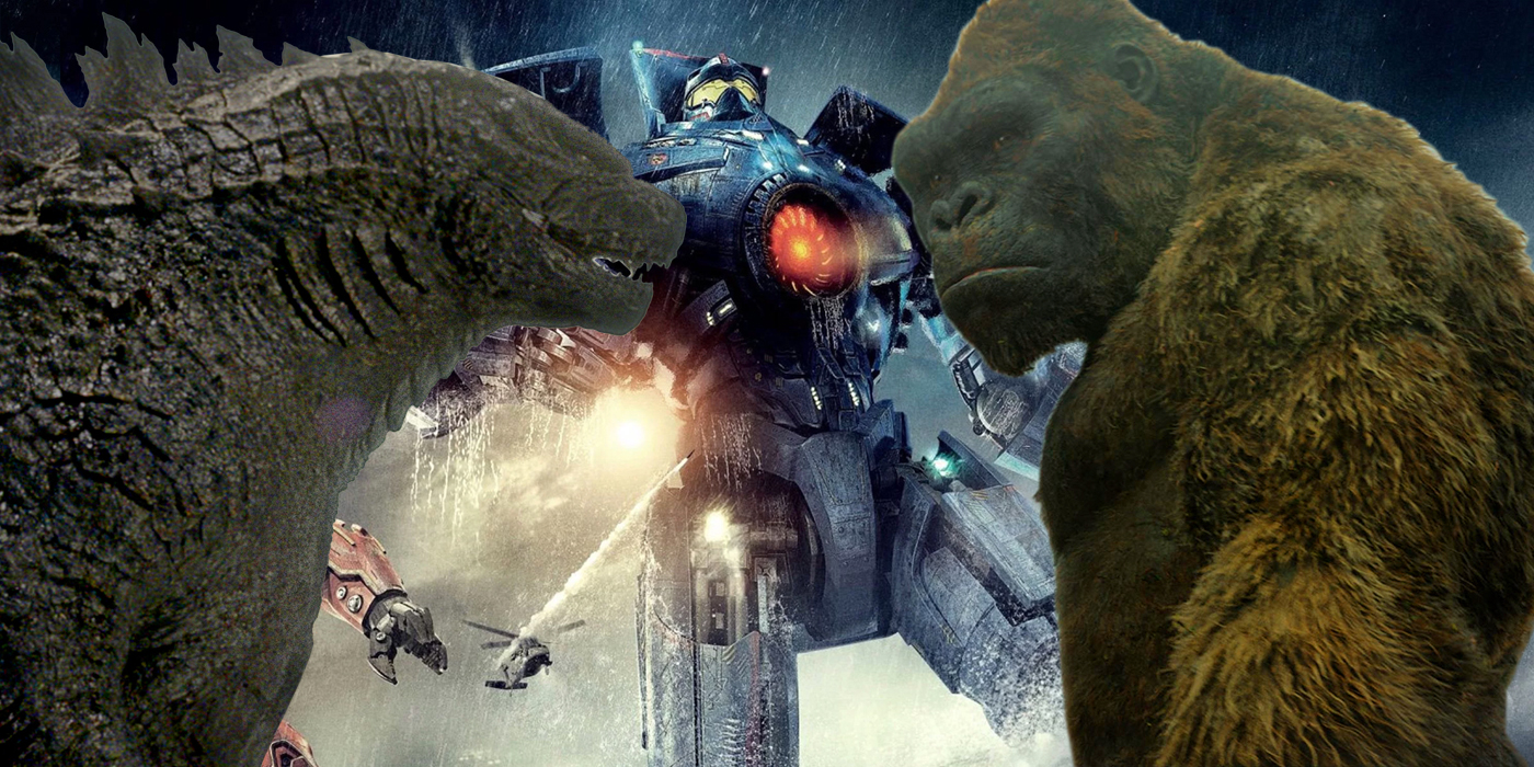 Should Pacific Rim Join Kong & Godzilla In The MonsterVerse? Pacific Rim Vs Godzilla