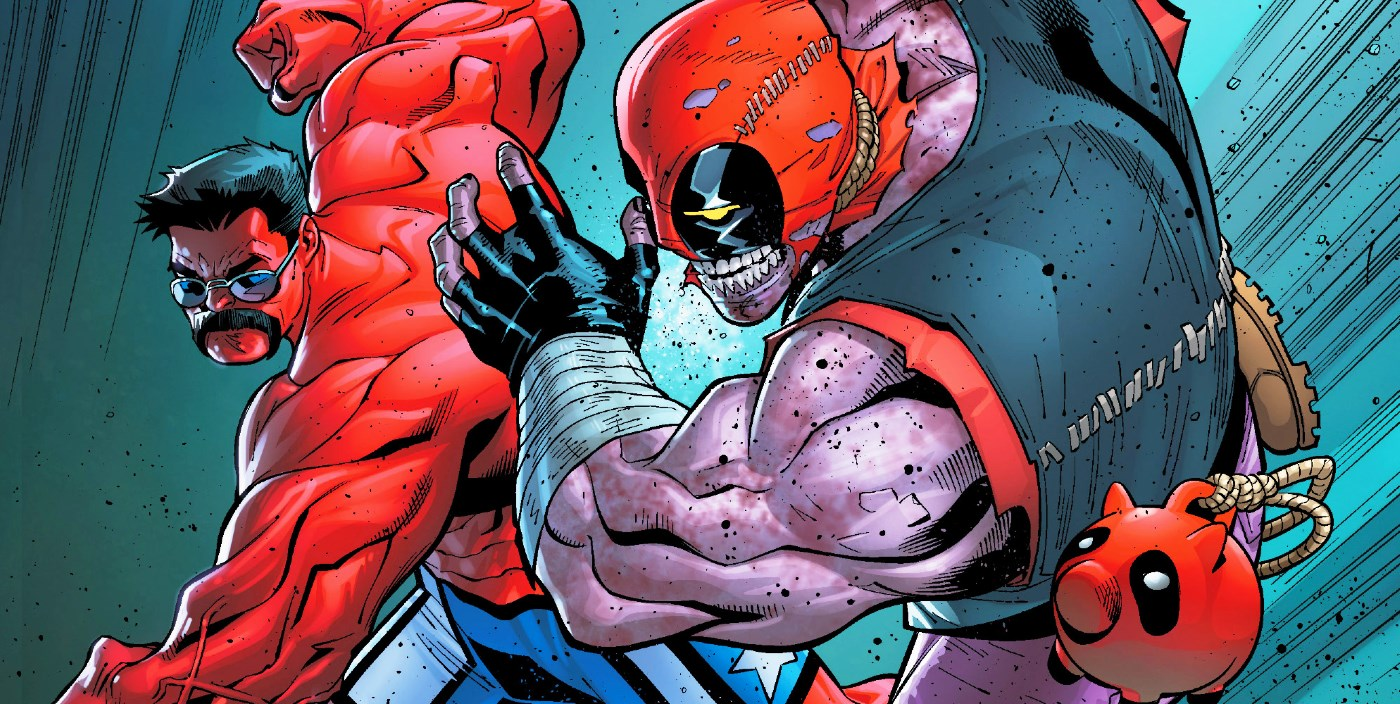 Deadpool just hulked out on red hulk himself screen rant - Pictures of red hulk ...