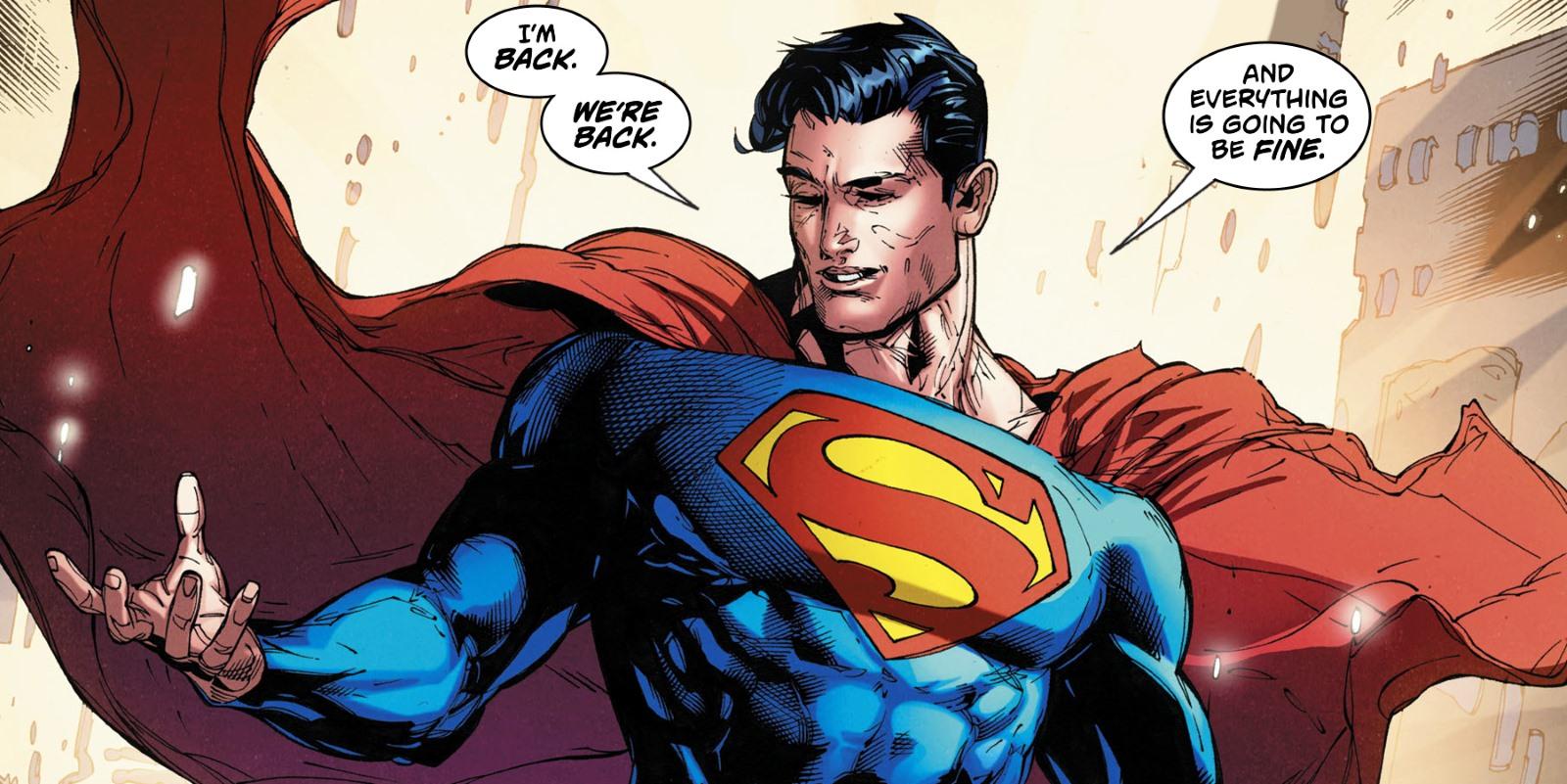 Dc Rebirth Brings Back New  Superman Screen Rant