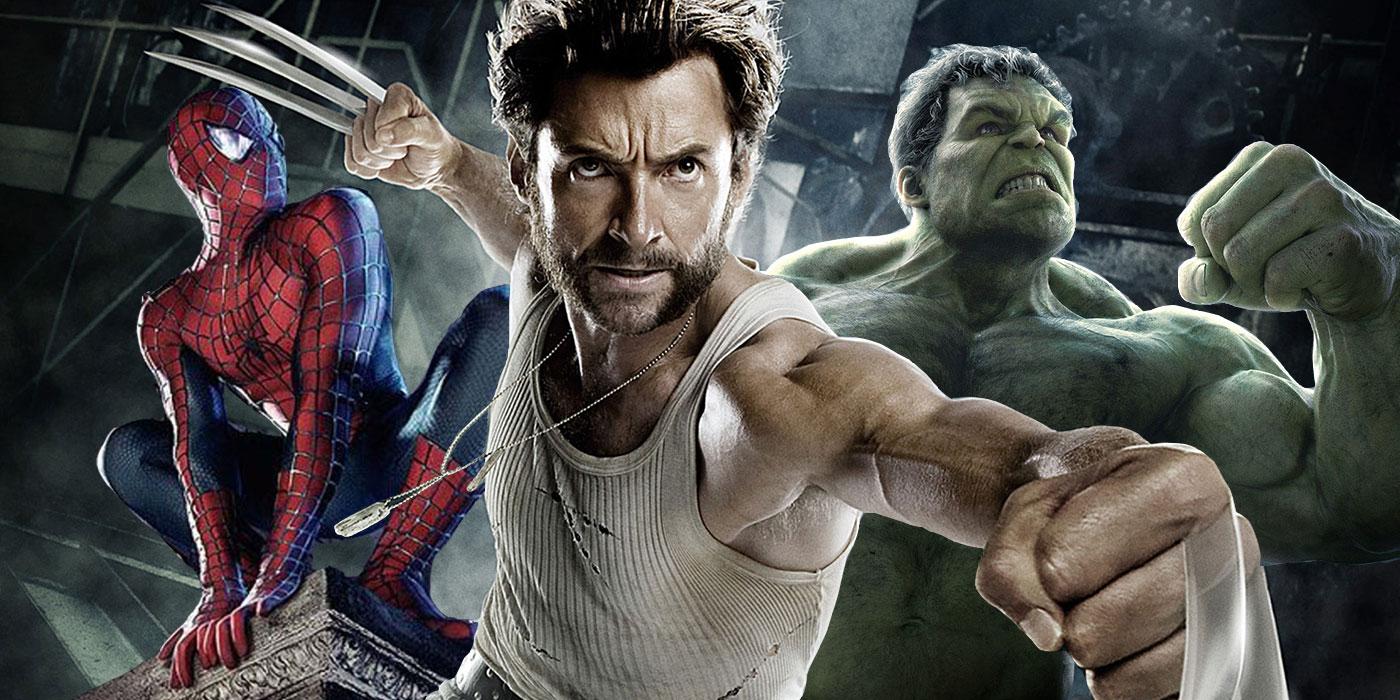 Wolverine-Spider-Man-Hulk