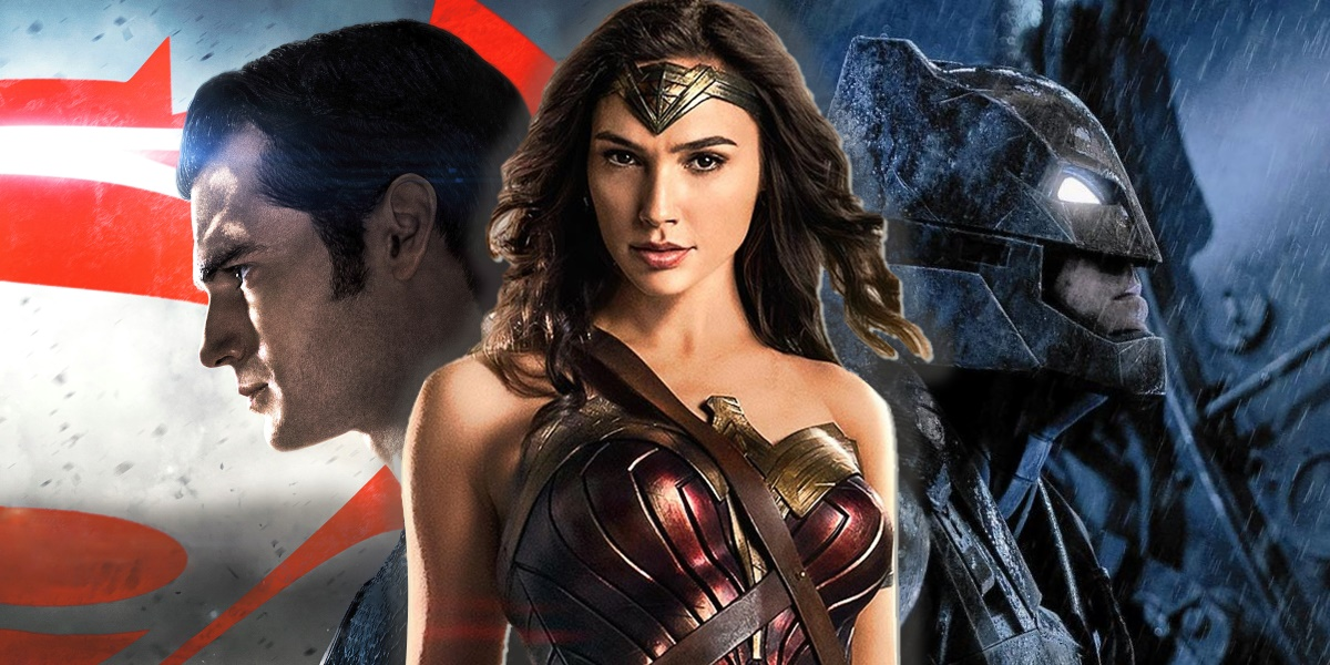 Wonder Woman DCEU Movie Rebirth