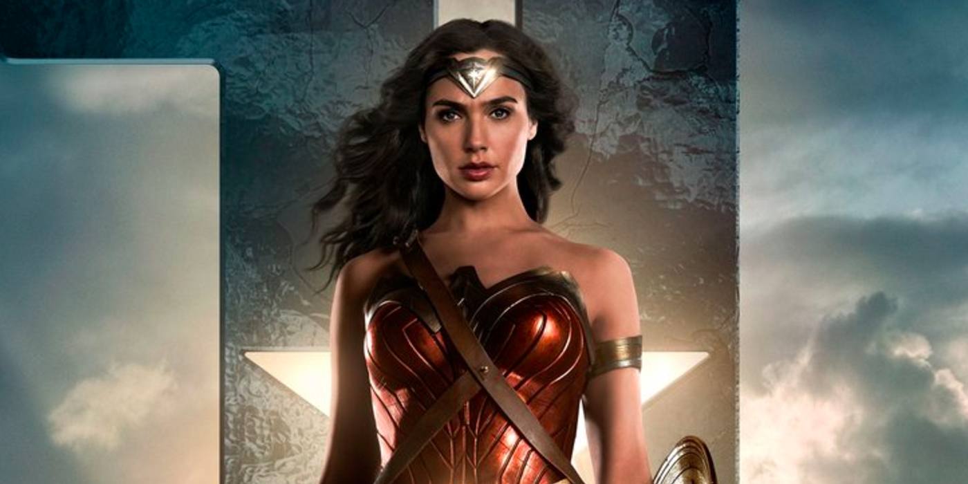 Justice League Teaser Poster Enter Wonder Woman
