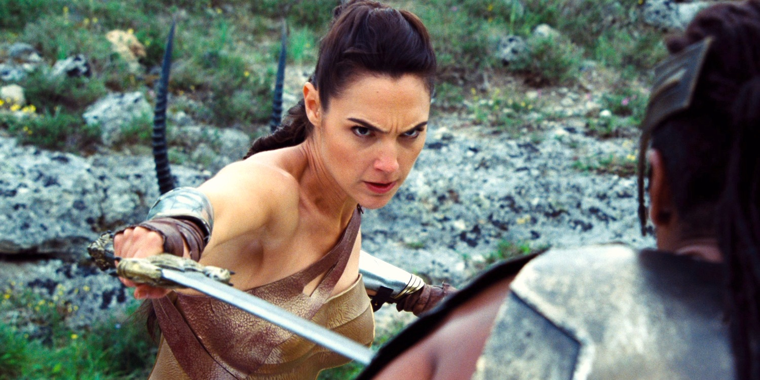 Wonder Woman Trailer Swordfighting