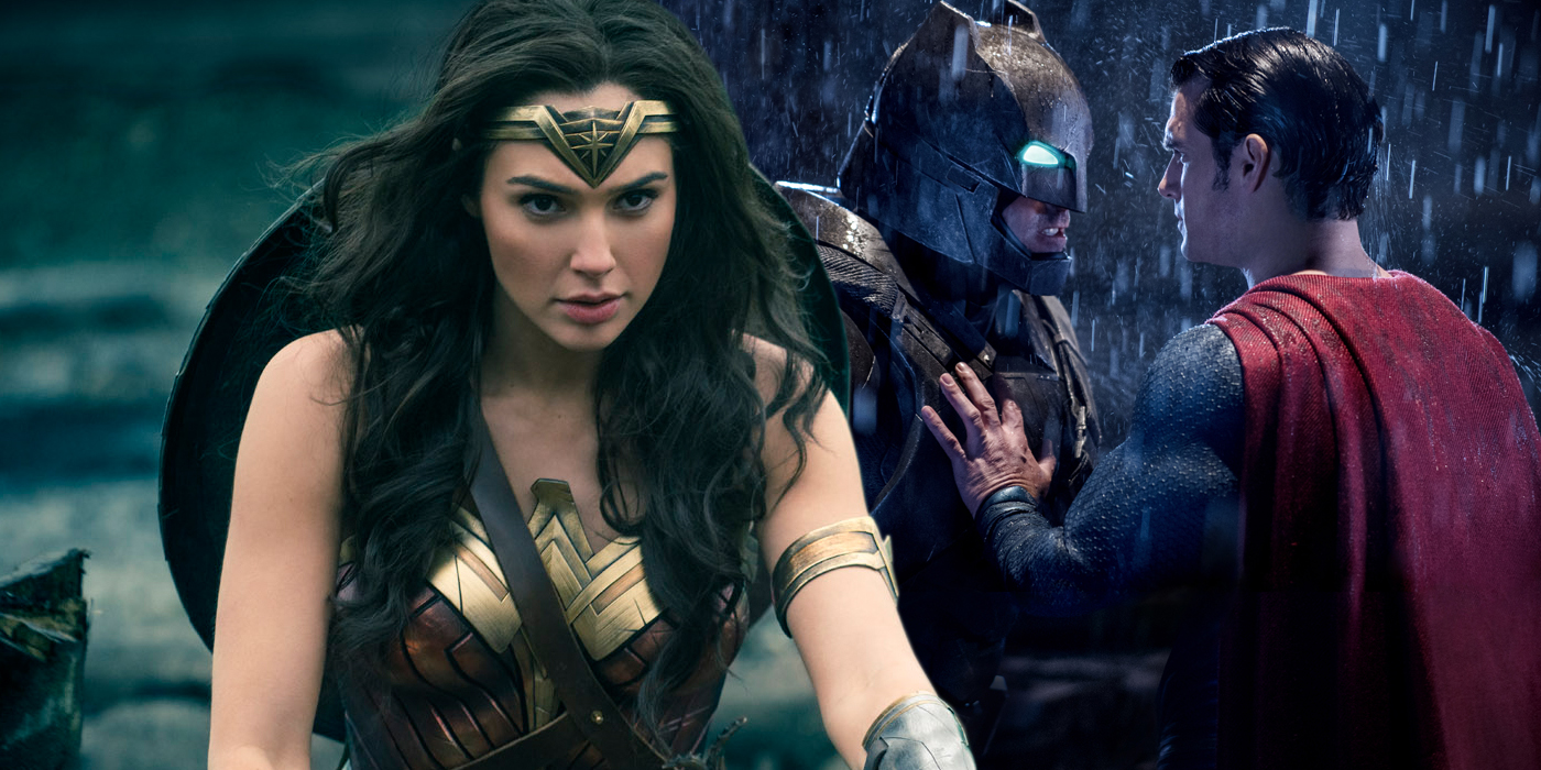 Wonder Woman Looks Very Different to Batman V Superman