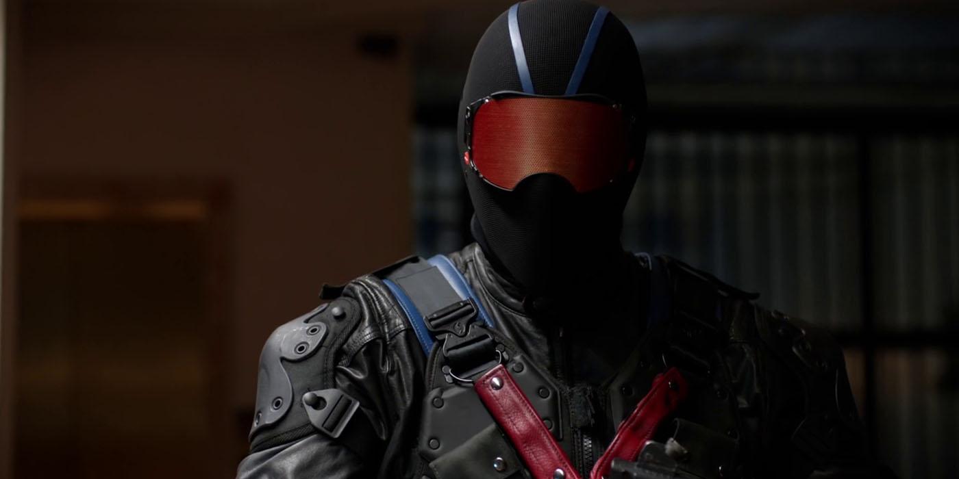 Arrow Vigilante in Mask
