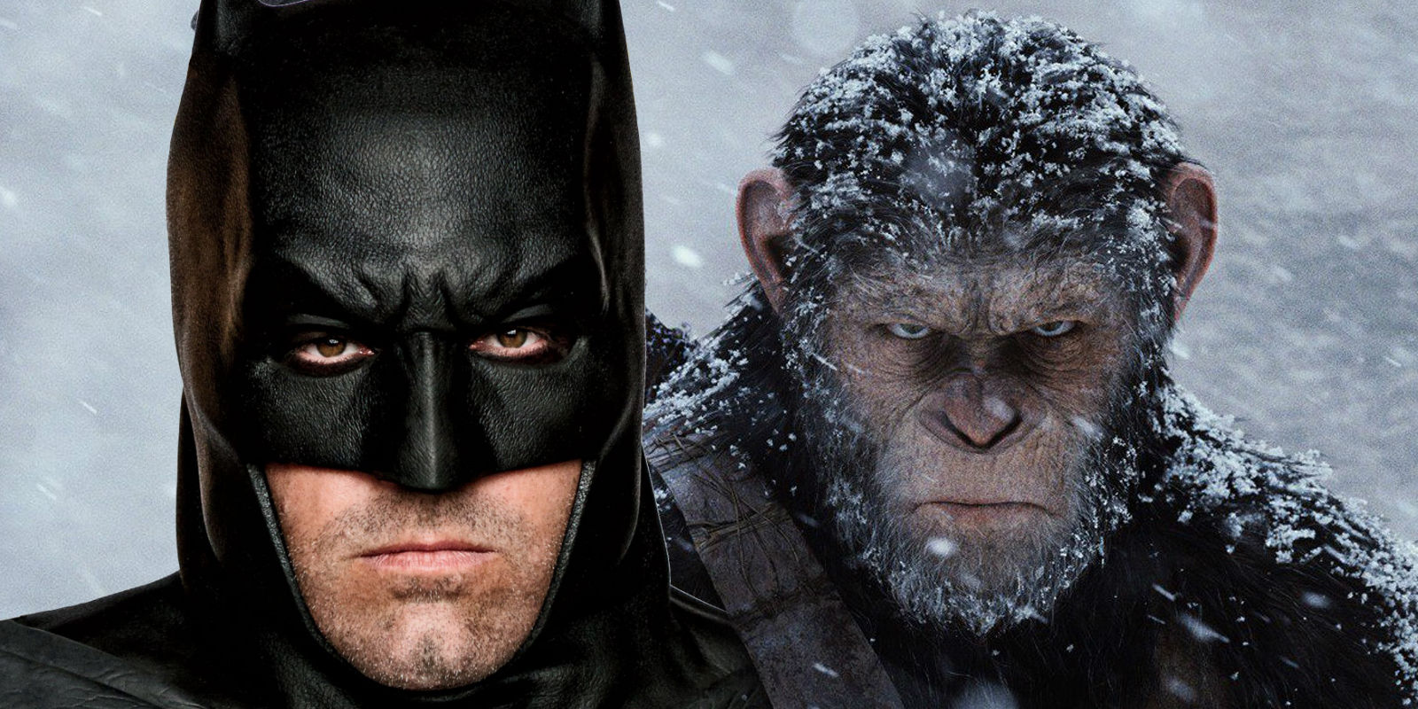 Batman Ben Affleck Planet of the Apes Caesar