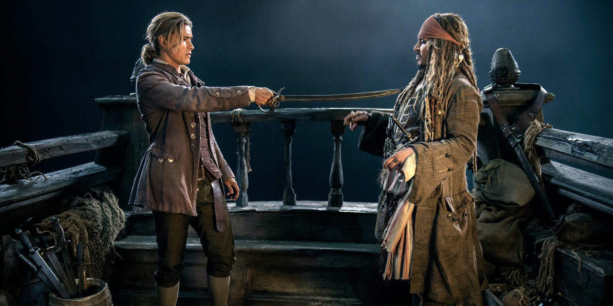 Will's Son Meets Jack In Pirates 5 Image