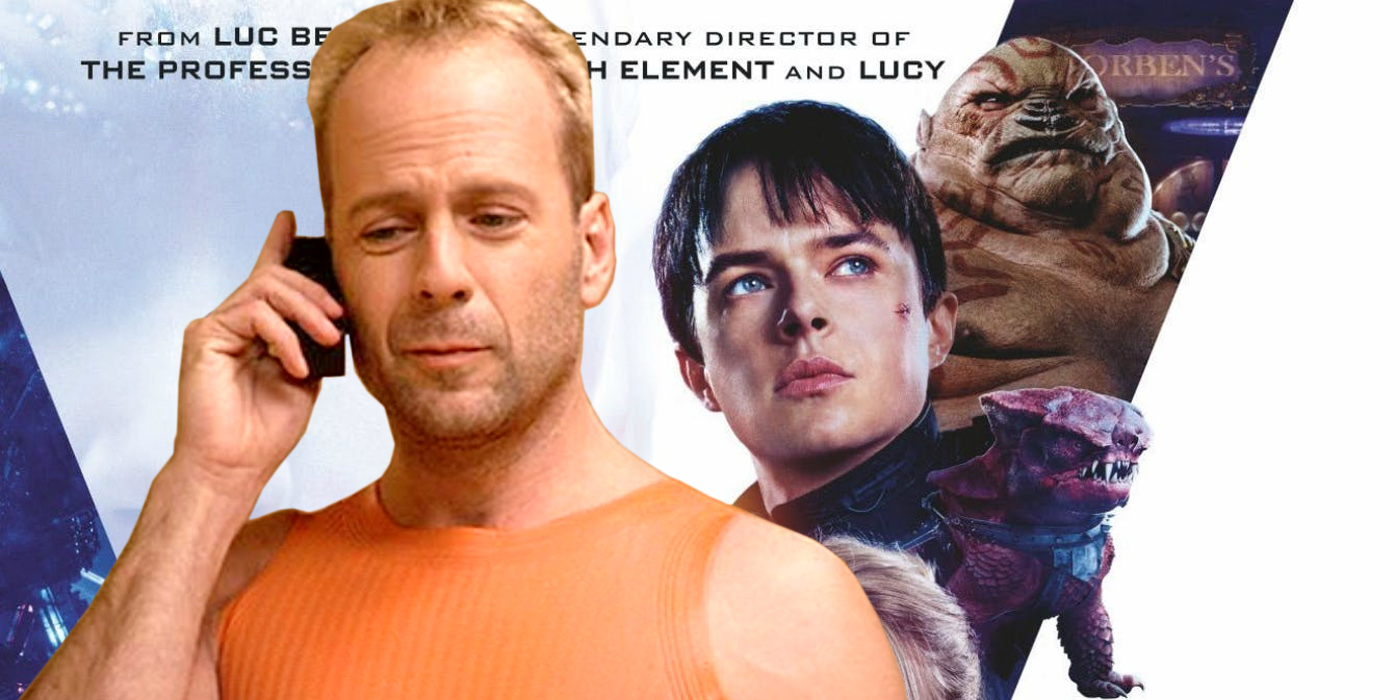 Bruce Willis in The Fifth Element and Valerian