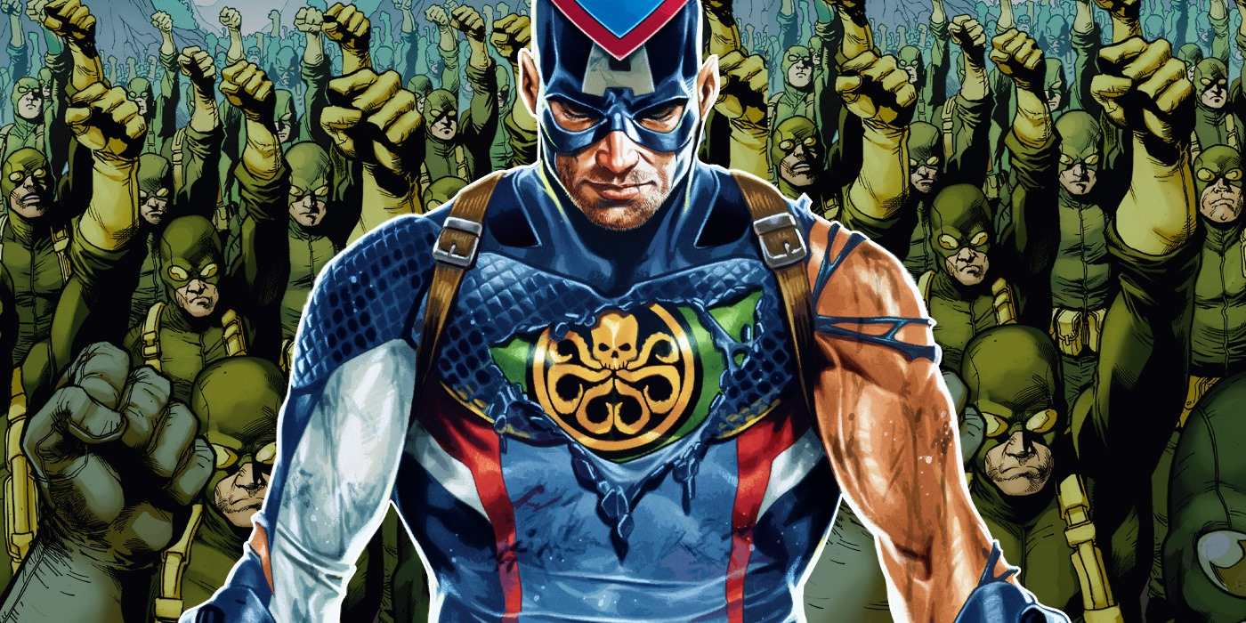 Captain America Hydra Evil Explained on secret avengers