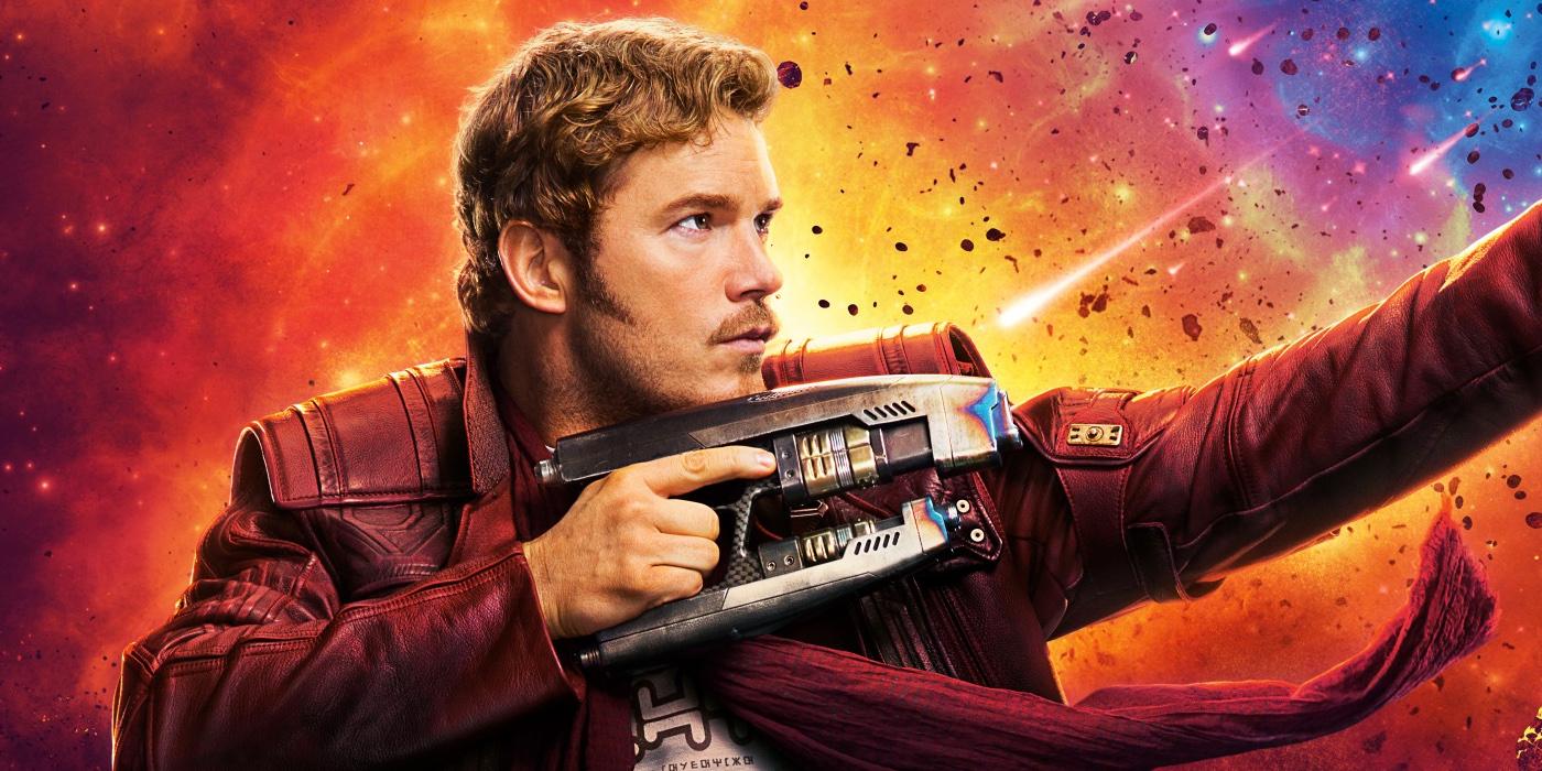 Chris Pratt as Peter Quill aka Star-Lord Guardians of the Galaxy Vol 2