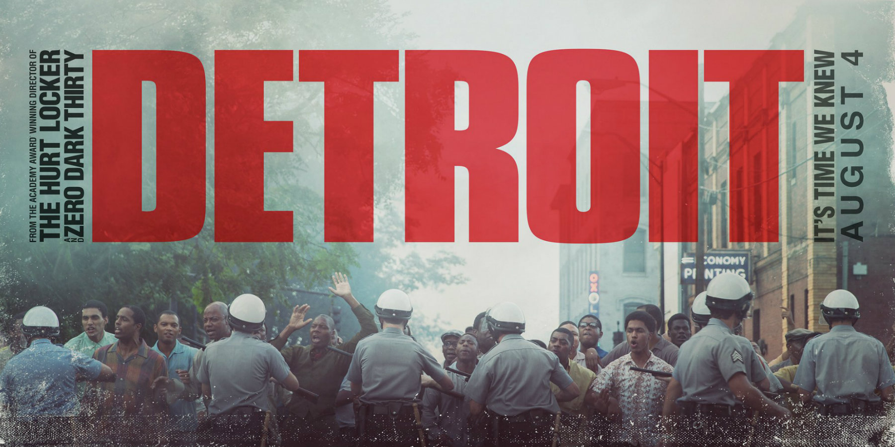 2017 Movie Posters: Detroit (2017) Movie Review