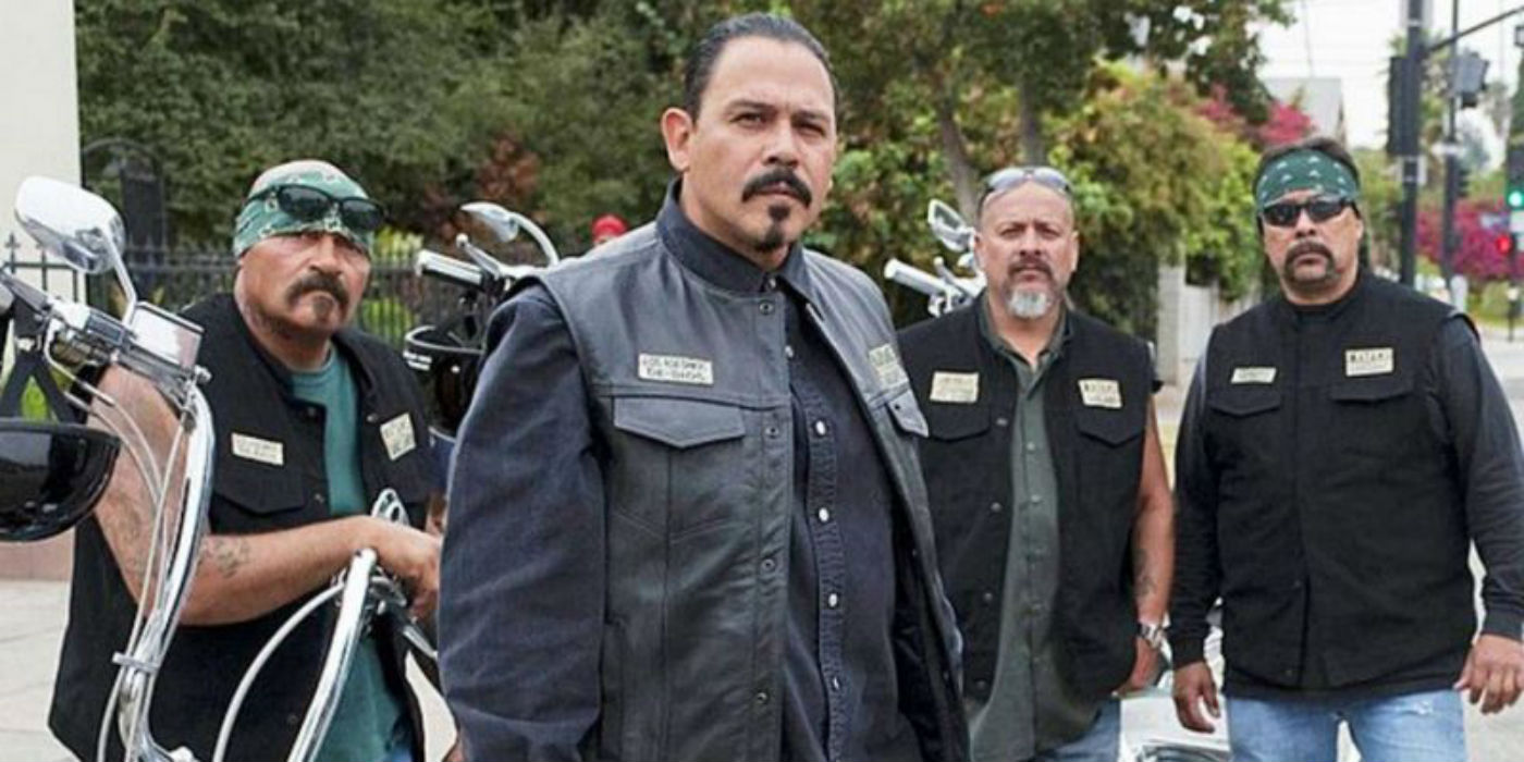 Emilio Rivera as Marcus Alvarez in Sons of Anarchy spin-off Mayans MC 2
