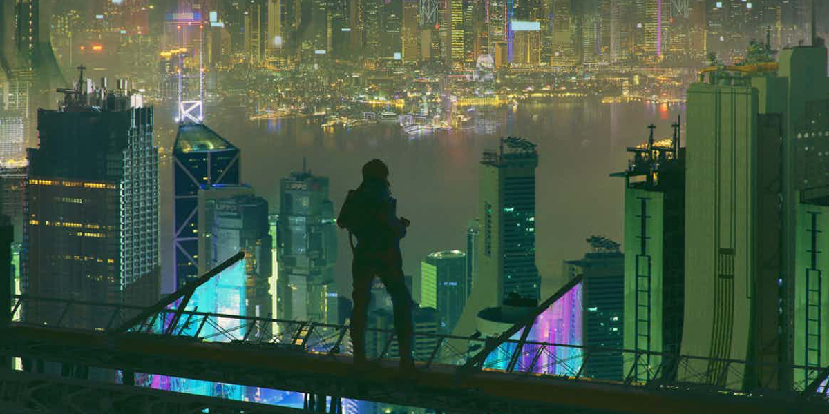 85+ Ghost In The Shell Cityscape - Ghost In The Shell Must ...