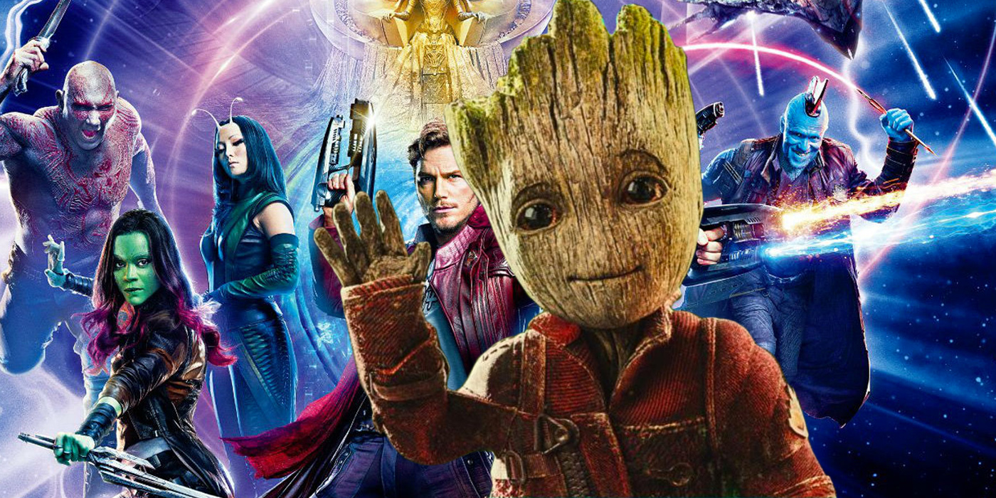 Guardians of the Galaxy Vol 2 Baby Groot Waving