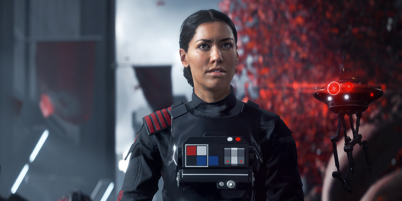 Iden Versio in Star Wars Battlefront 2