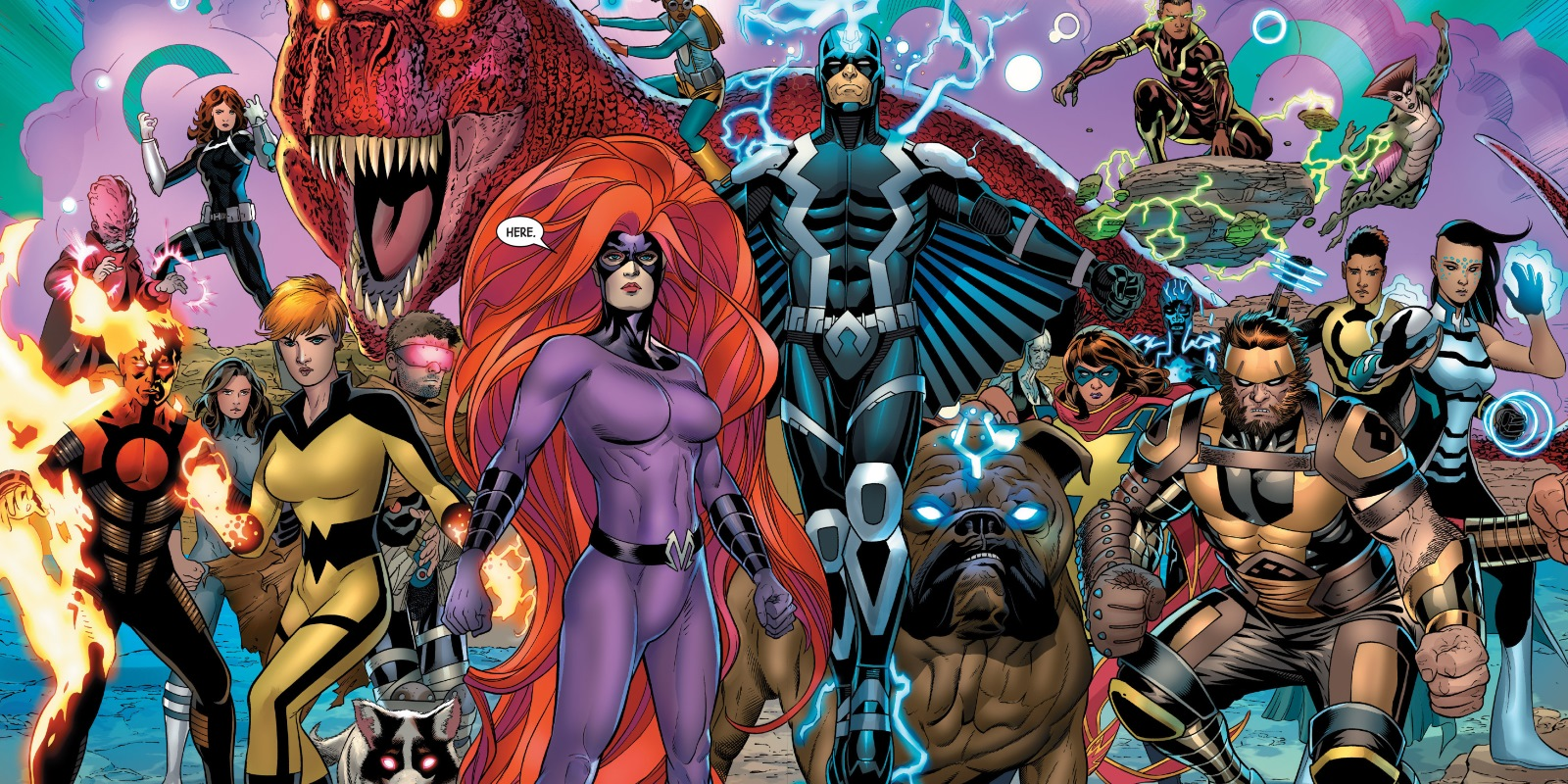 What You Need to Know About Marvel's Inhumans?