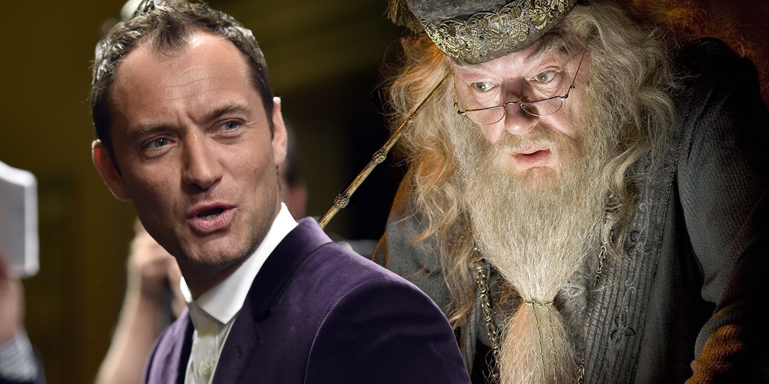 Jude Law Dumbledore Fantastic Beasts 2