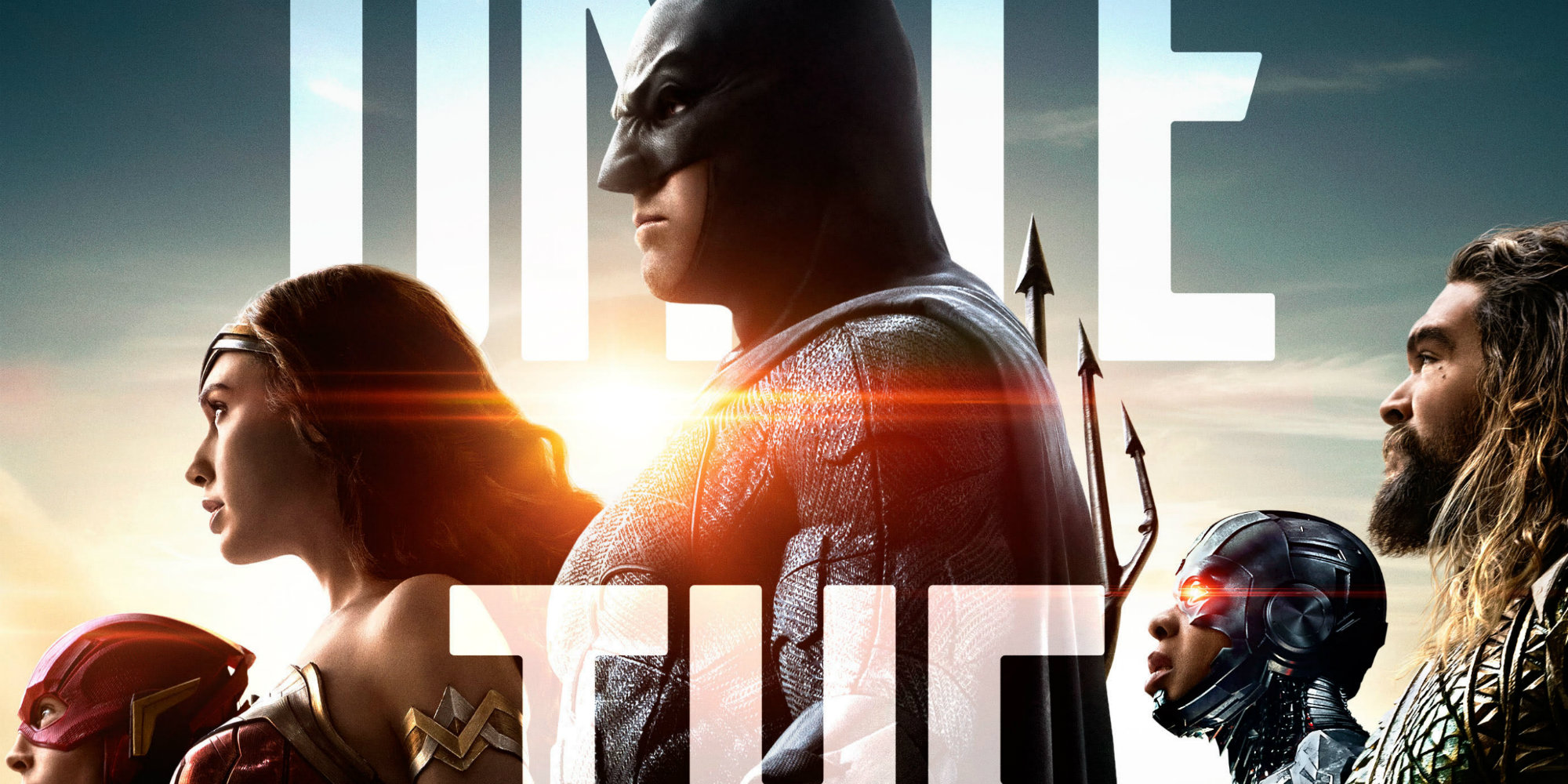 Justice League Gets An In Theater Poster Screen Rant