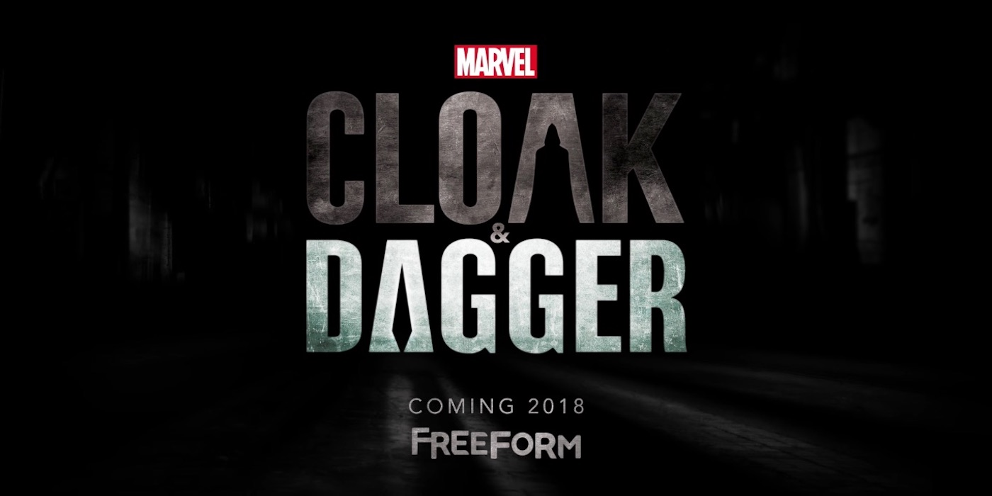 Marvel's Cloak and Dagger Freeform Logo