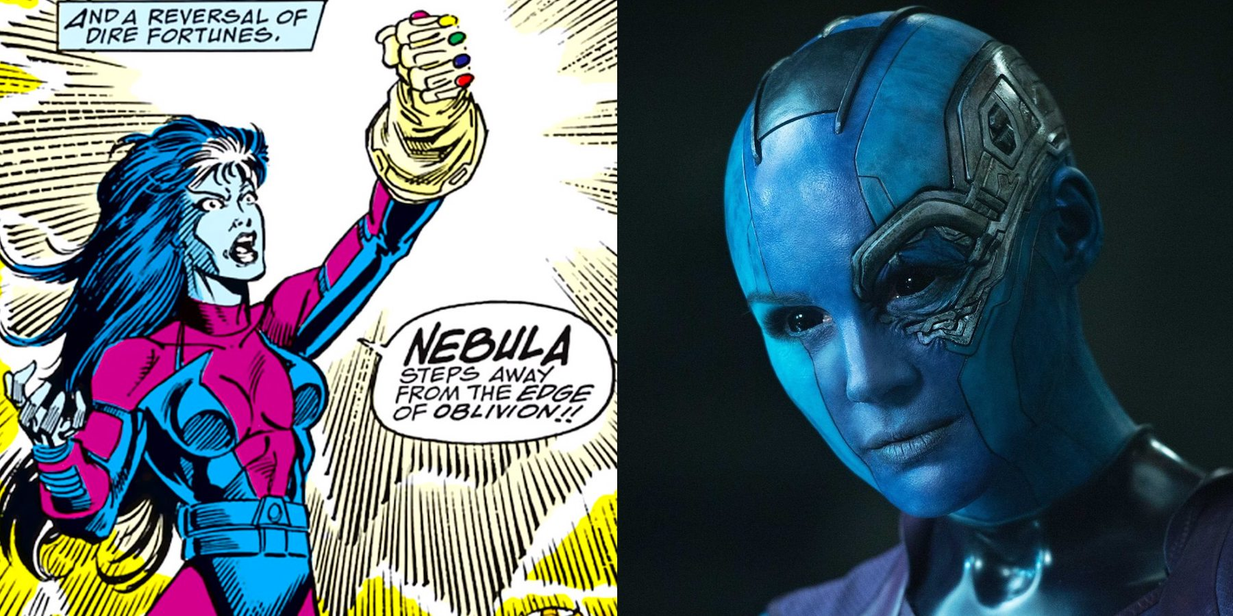 Guardians Of The Galaxy: The History Of Nebula