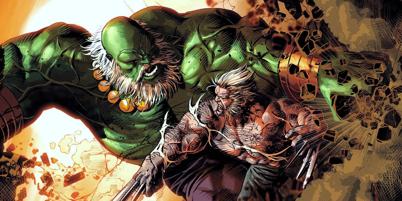 Wolverine Goes To War With A Hulk Army
