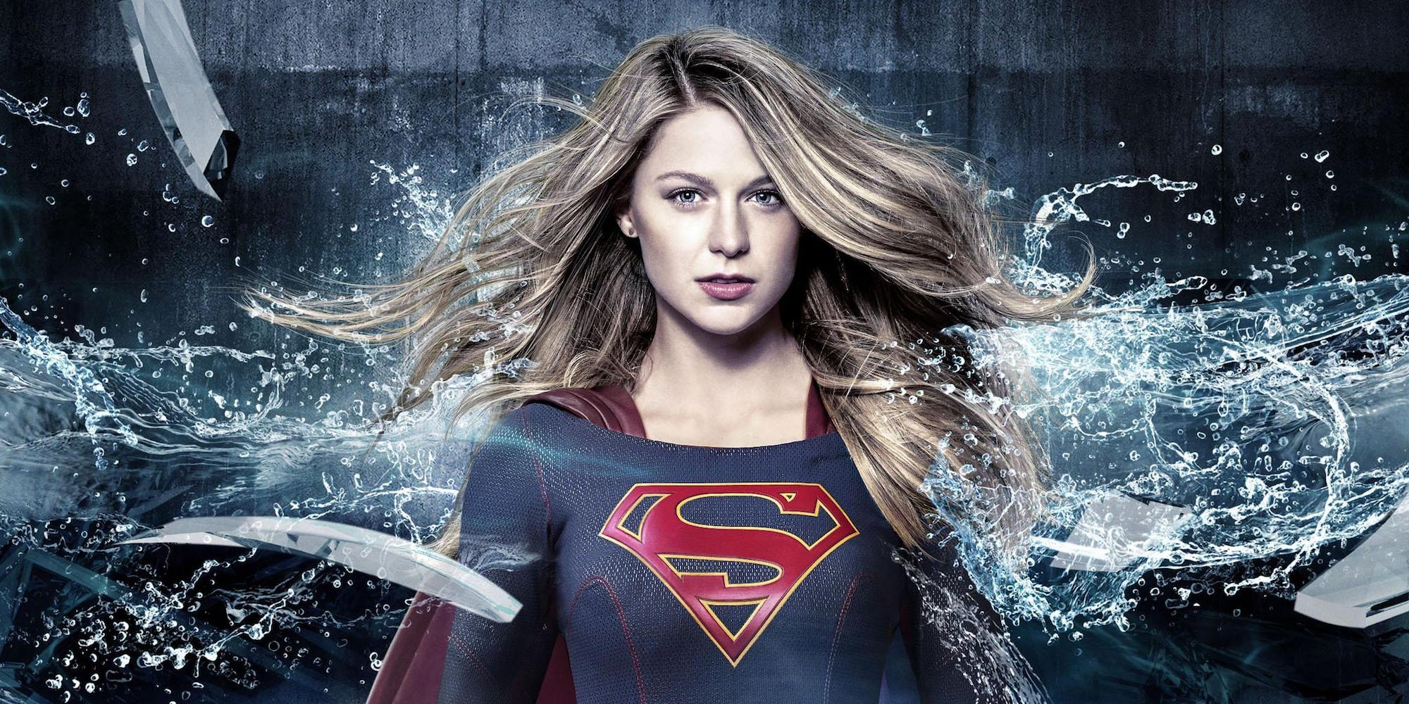 Supergirl Alex Poster Cropped