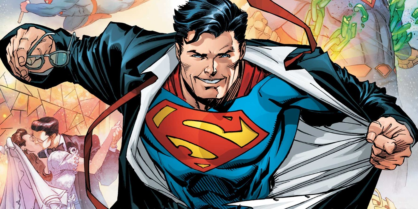 Superman Just Rebooted Dcs Entire Universe Screen Rant