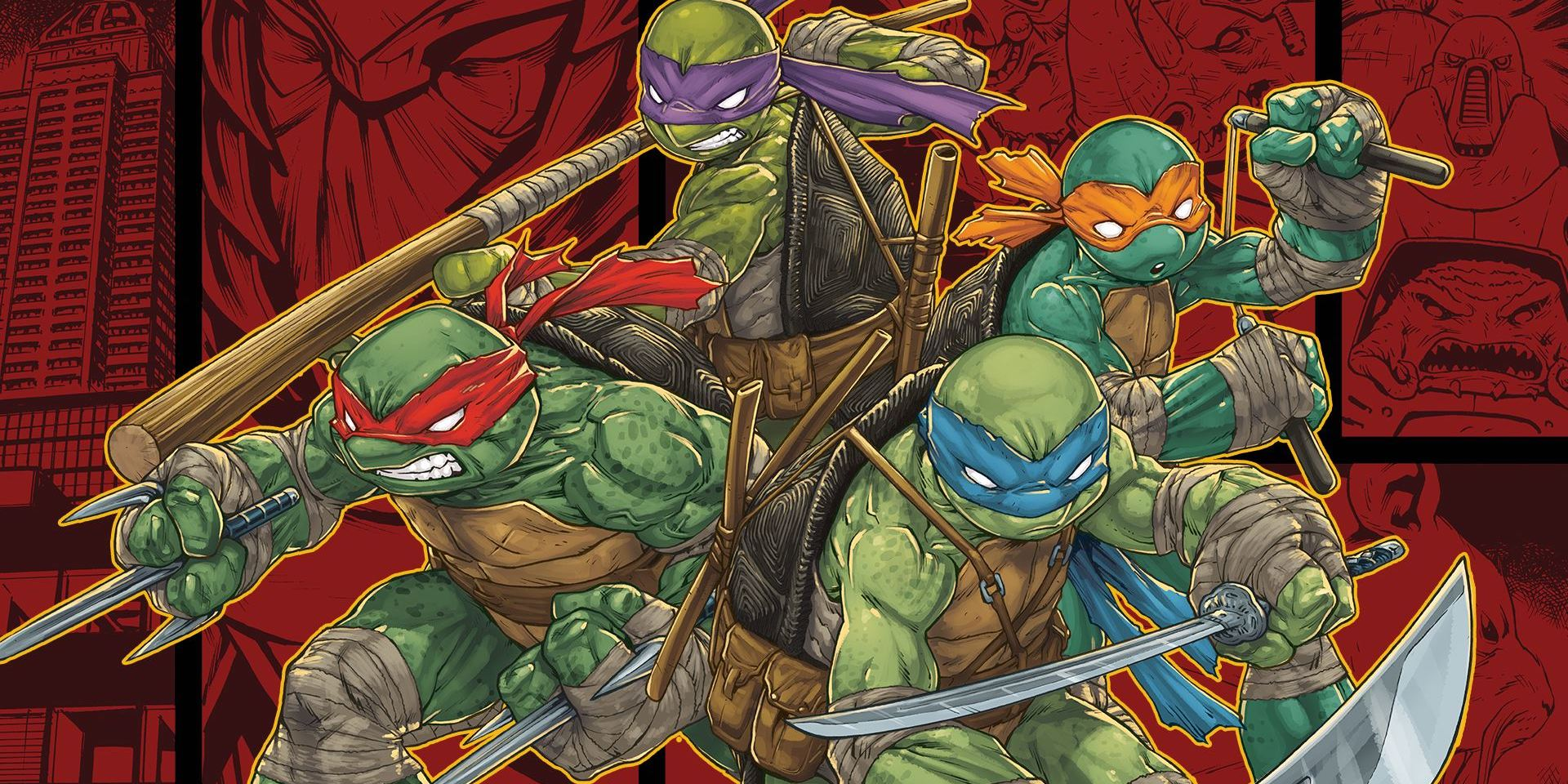 Teenage mutant ninja turtles comic wallpaper - photo#41