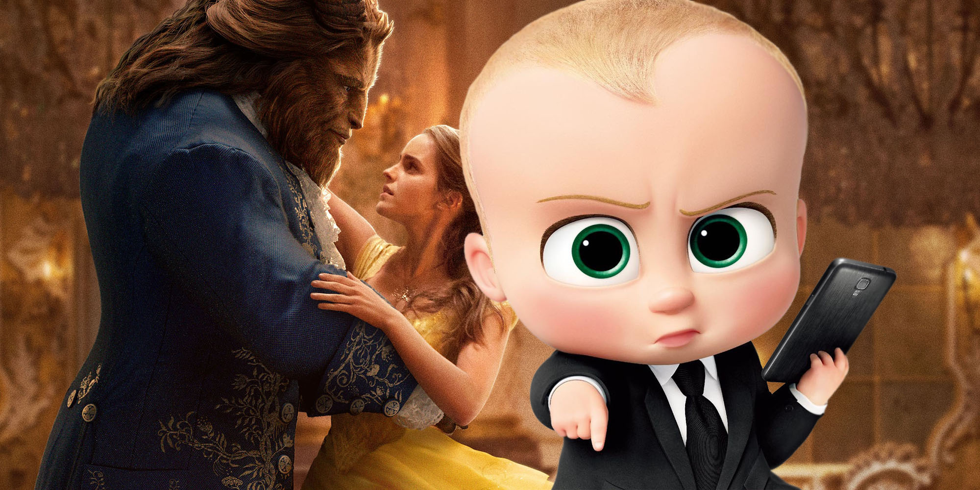 Box Office Boss Baby Tops Beauty And The Beast