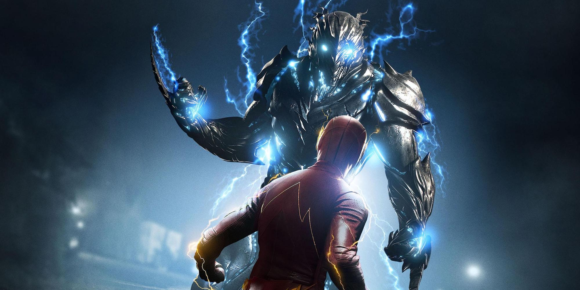The Flash Once and Future Flash Savitar Poster