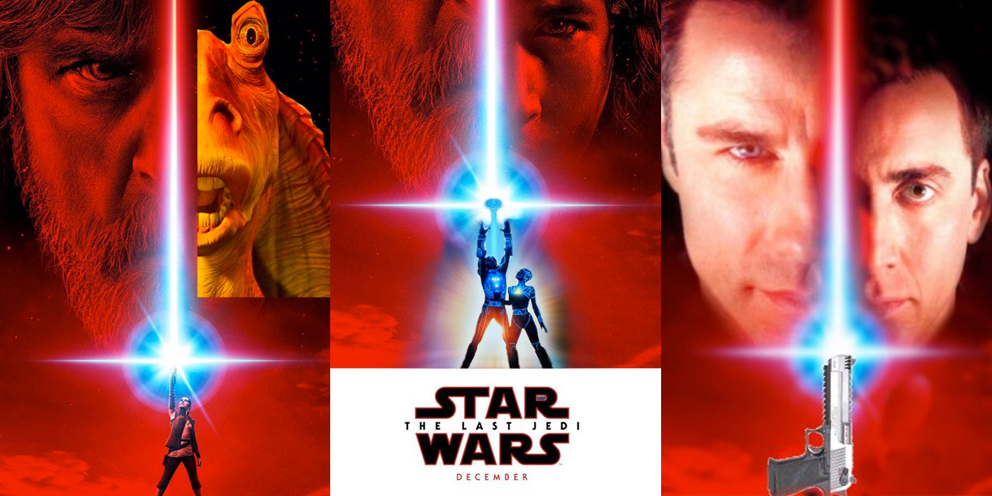 Starwars The Last Jedi Poster >> Star Wars 8 Poster Photoshopped by Fans   Screen Rant