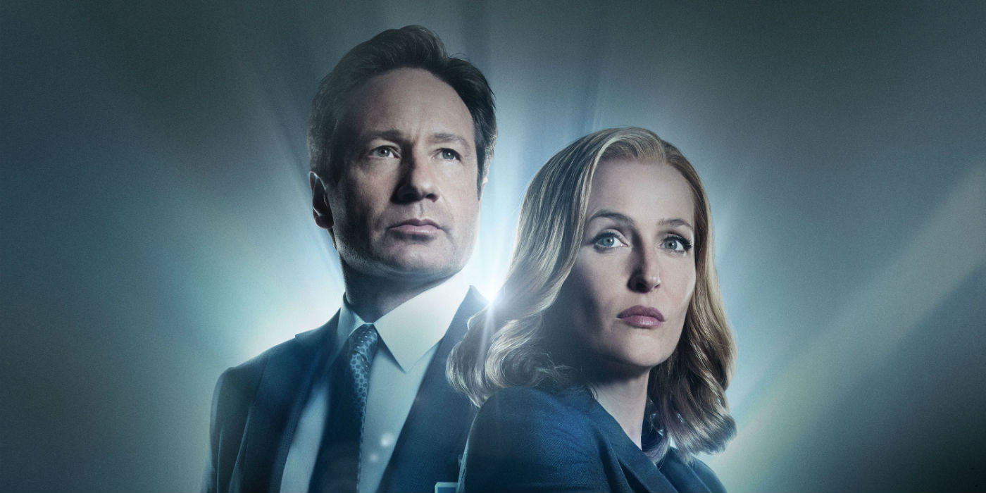 The X-Files season 10 - Mulder and Scully