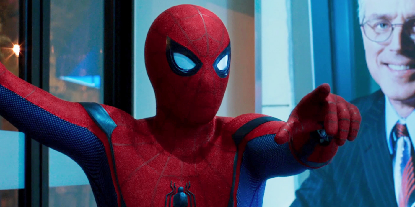 Spider-Man: Homecoming Convenience Store Heist - Pointing Finger