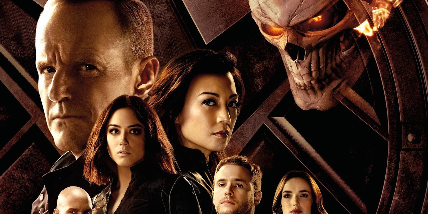 Agents of SHIELD Season 4 Ghost Rider Poster