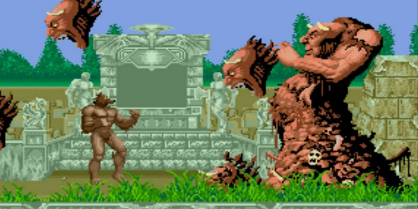 Sega screen rant for Altered beast