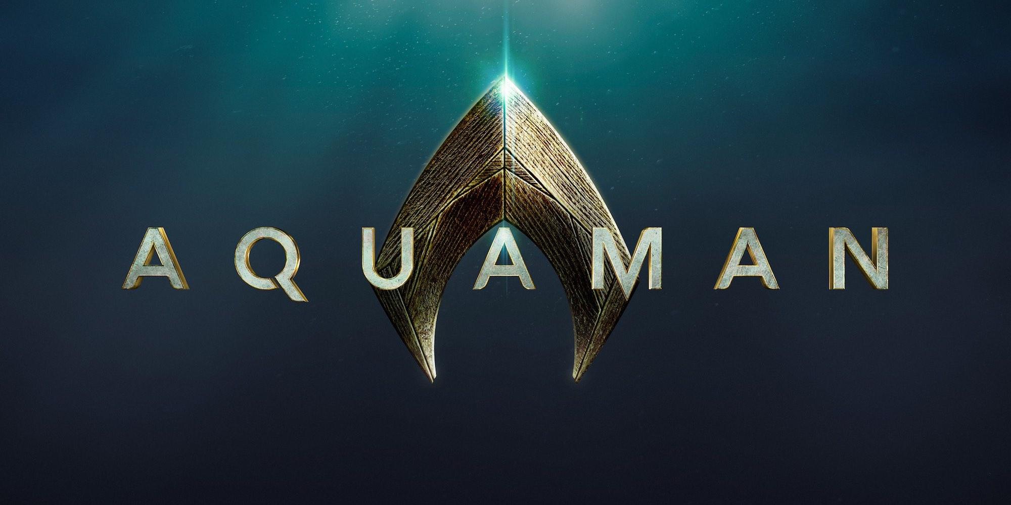 Aquaman Movie Gets Official Logo   Screen Rant