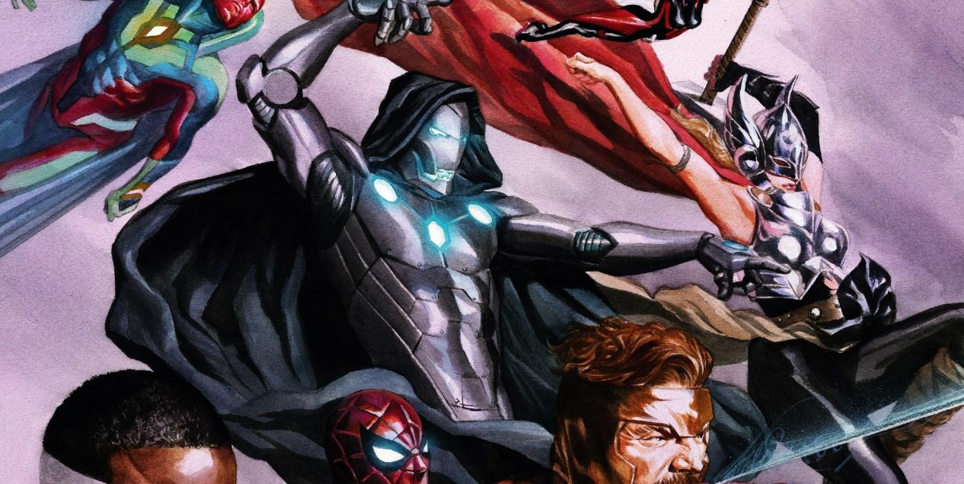 doctor doom joins the avengers screen rant