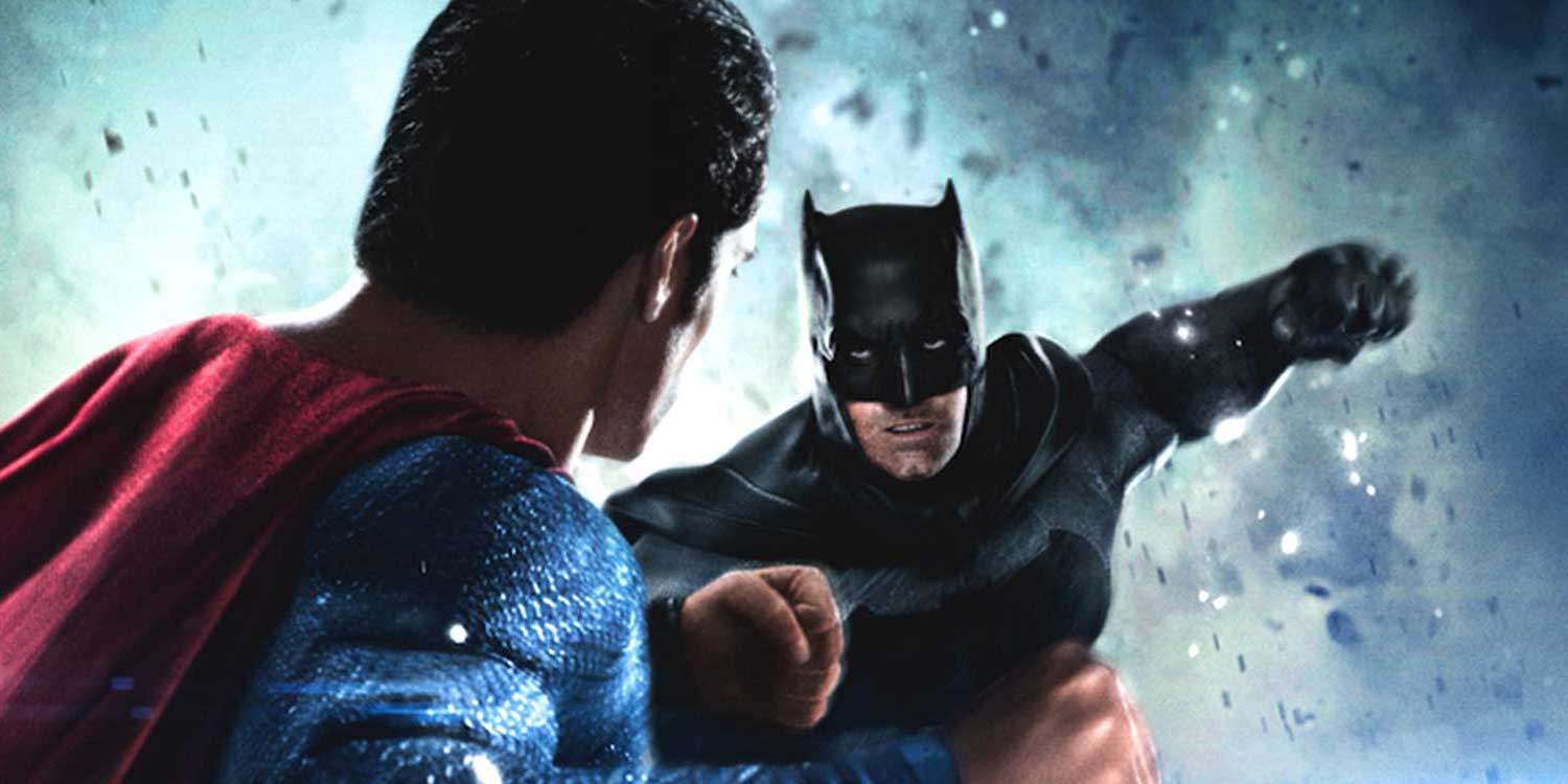 Batman V Superman Ben Affleck Bruce Wayne Fight Poster