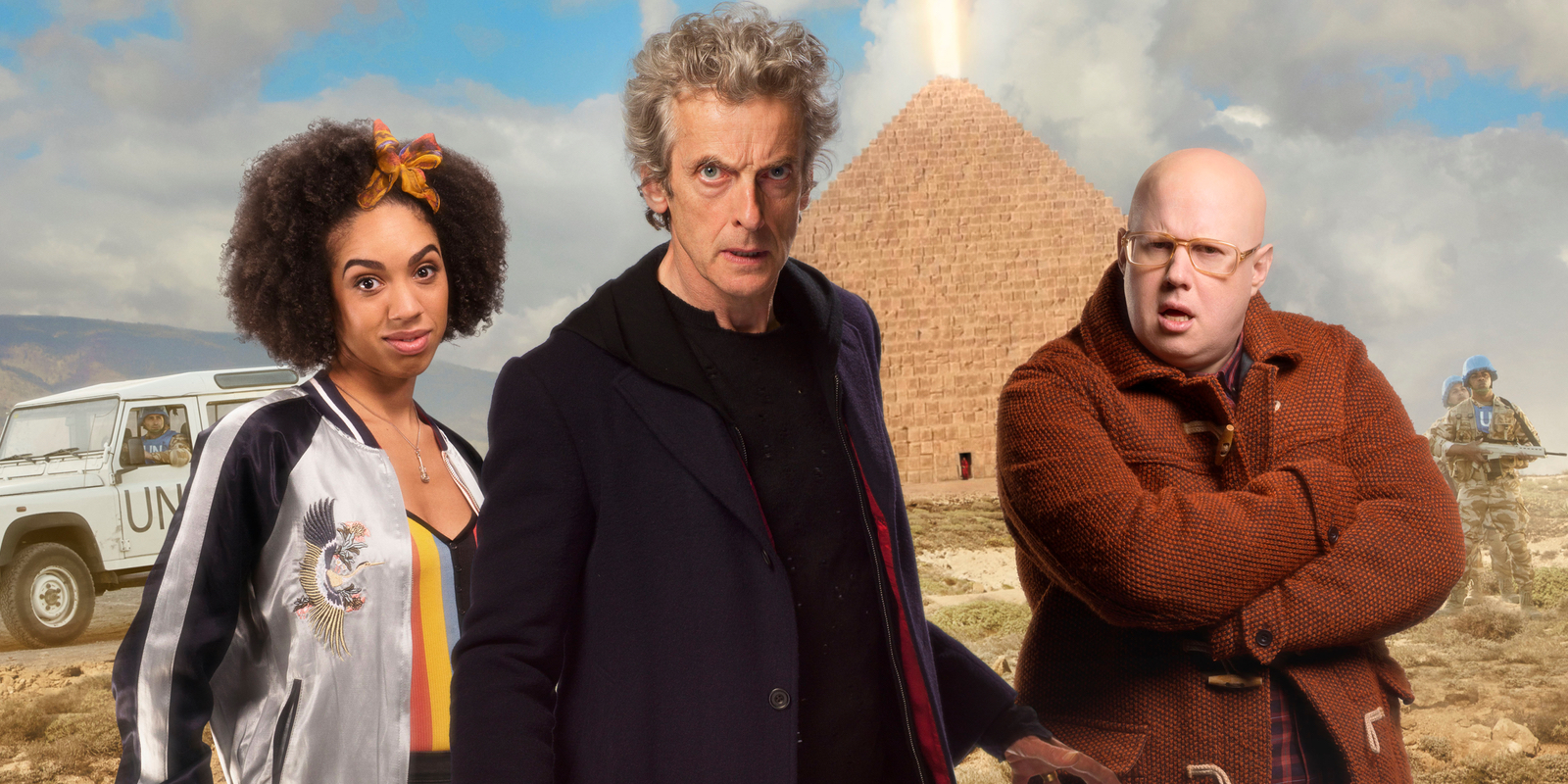 Doctor Who: Pyramid At The End Of The World Review
