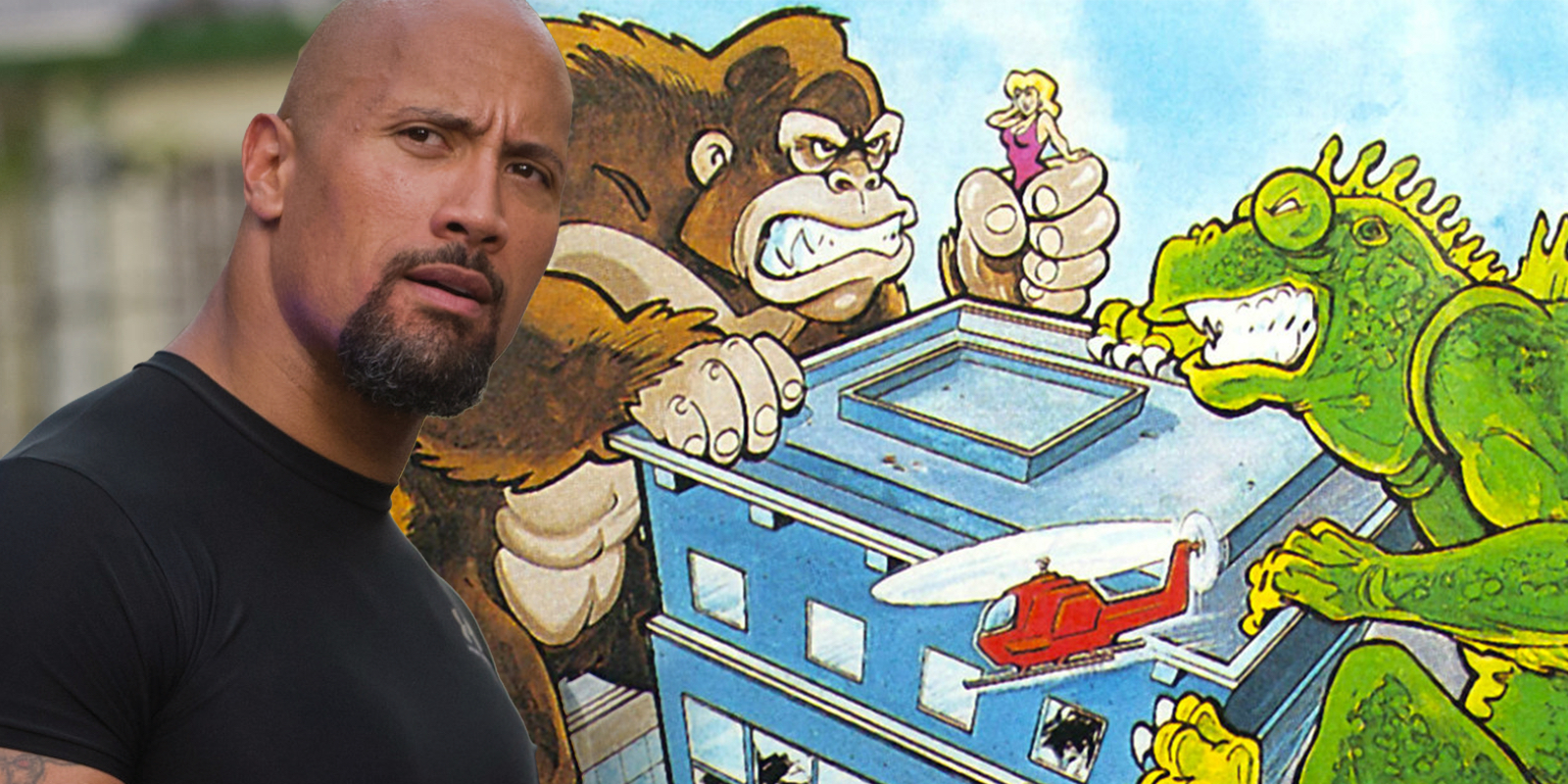 Dwayne Johnson's Rampage Done Filming