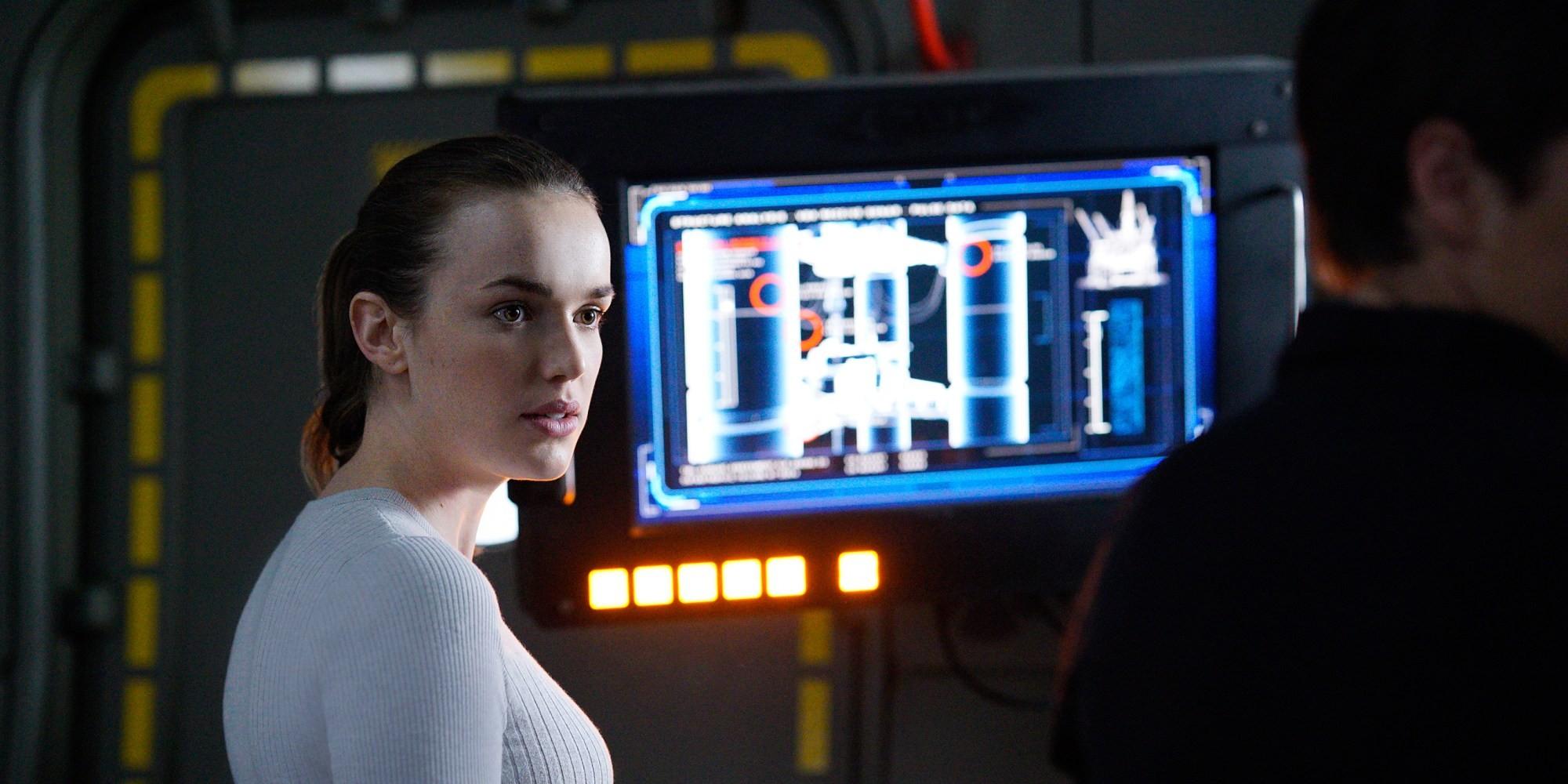 Elizabeth Henstirdge as Jemma Simmons in Agents of Shield